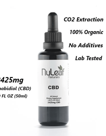 2425mg Full Spectrum CBD Oil High Grade Hemp Extract